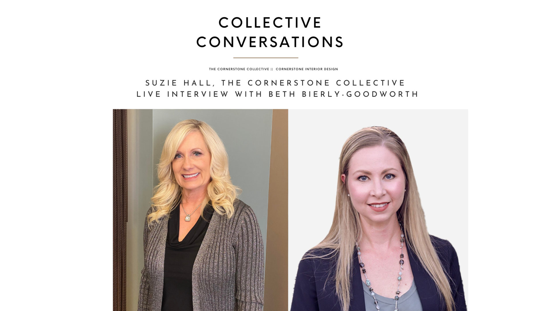 Conversations With Our Collective Associates: Beth Bierly-Goodworth